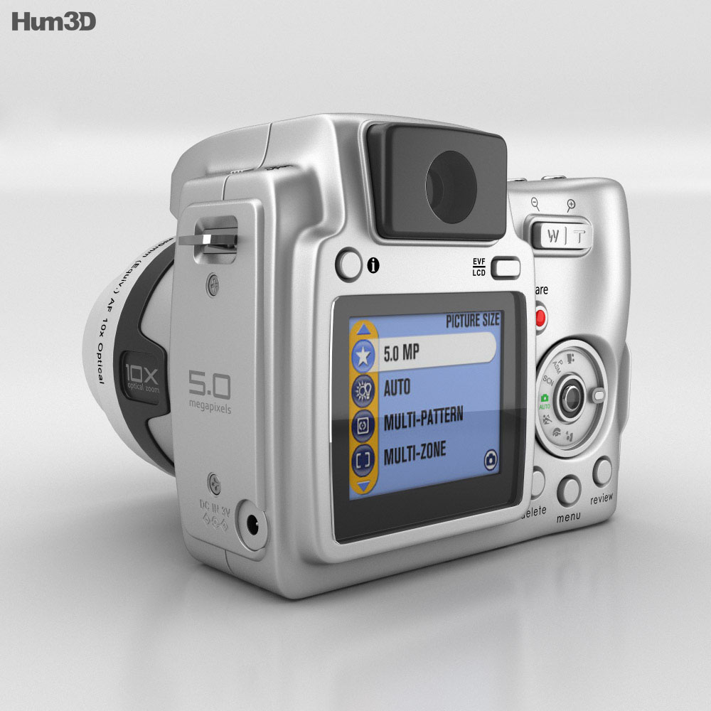 Kodak EasyShare Z740 Zoom 3d model