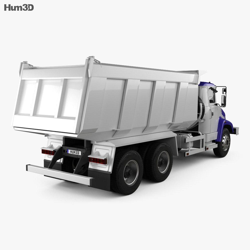 KrAZ C18.1 Dumper Truck 2011 3d model