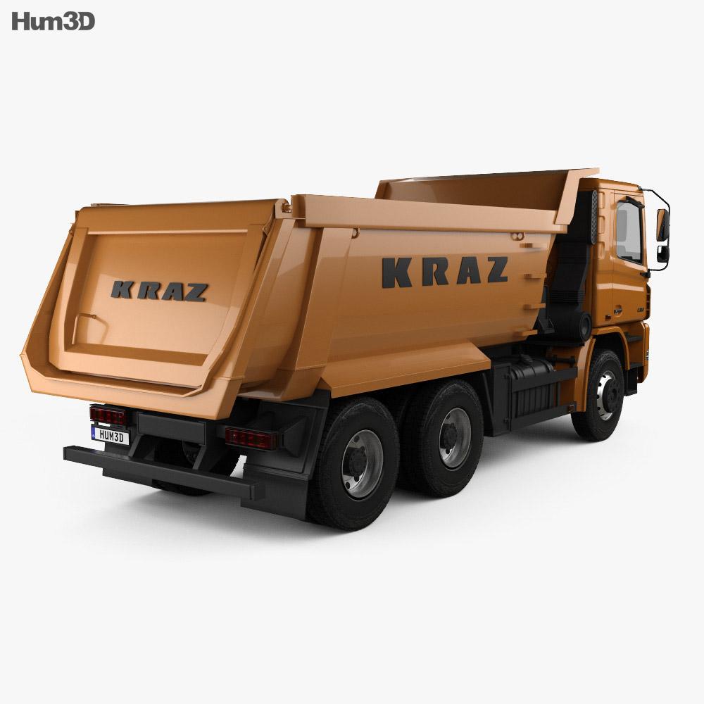 KrAZ C20.2 Dumper Truck 2011 3d model