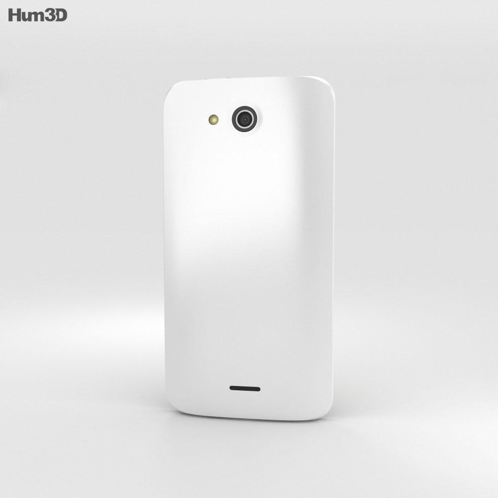 Kyocera Digno U White 3d model