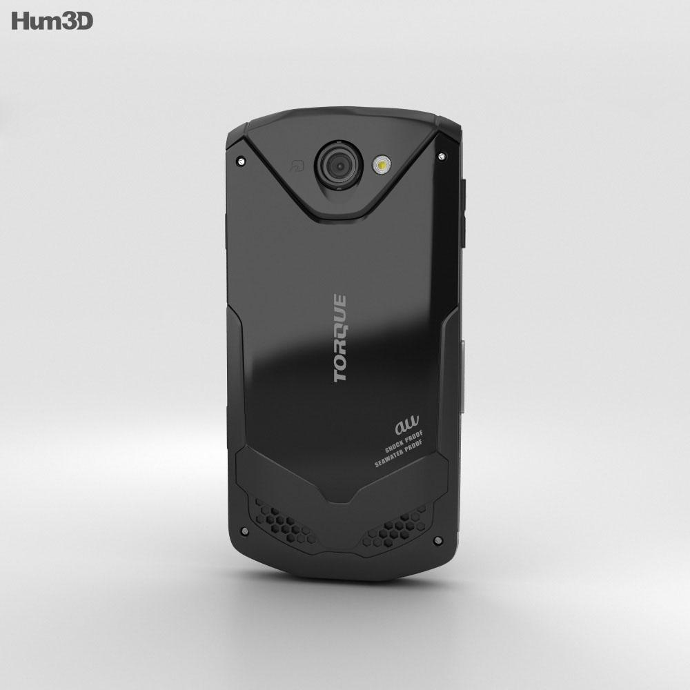 Kyocera Torque G02 Black 3d model