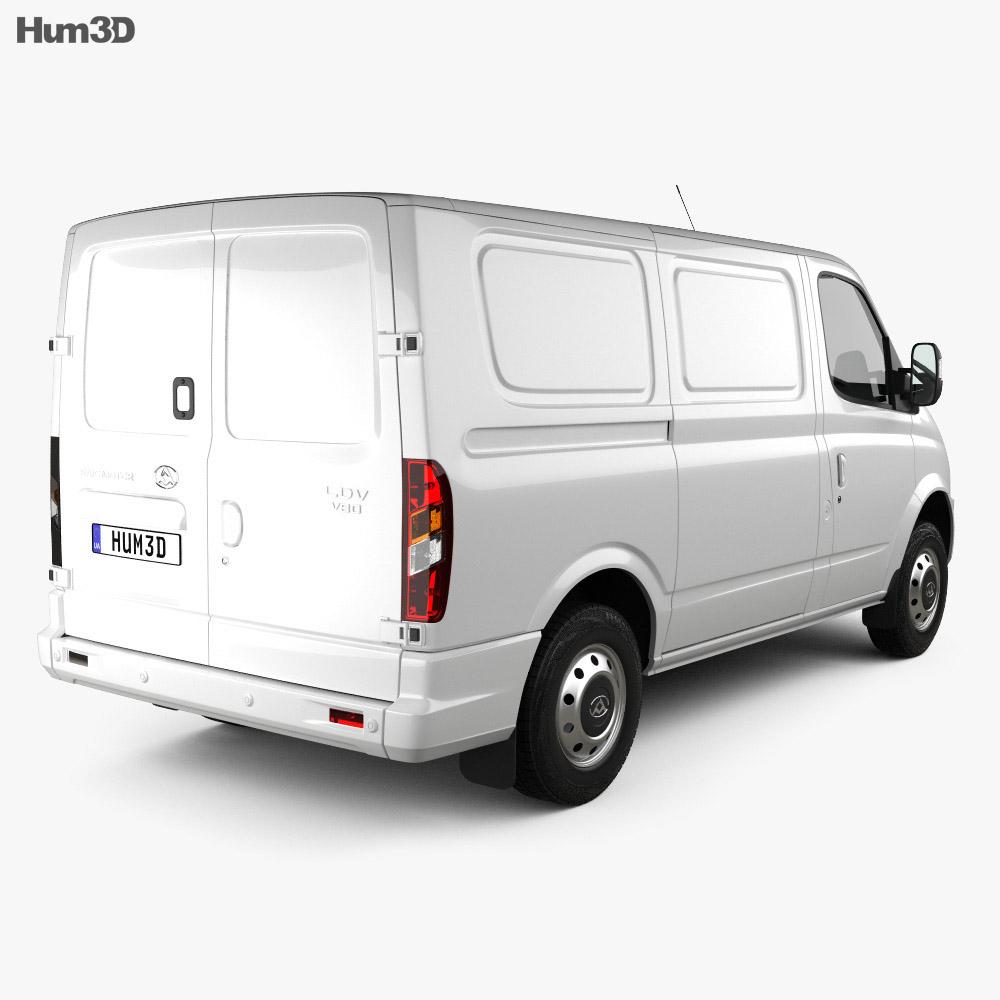 LDV V80 L1H1 Panel Van 2013 3d model