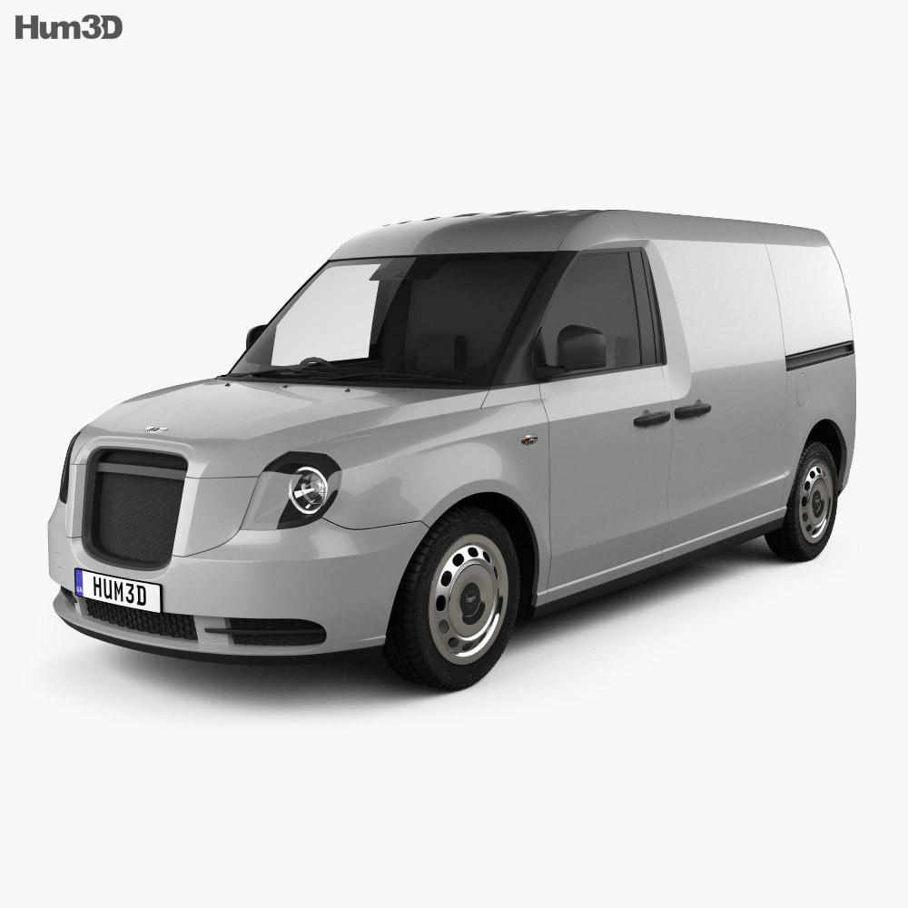 LEVC LCV 2019 3d model