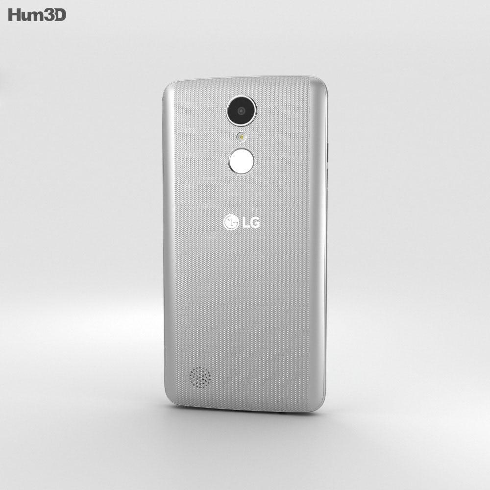 LG Aristo Silver 3d model