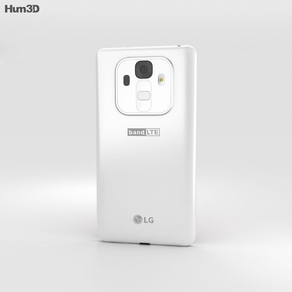LG Band Play White 3d model