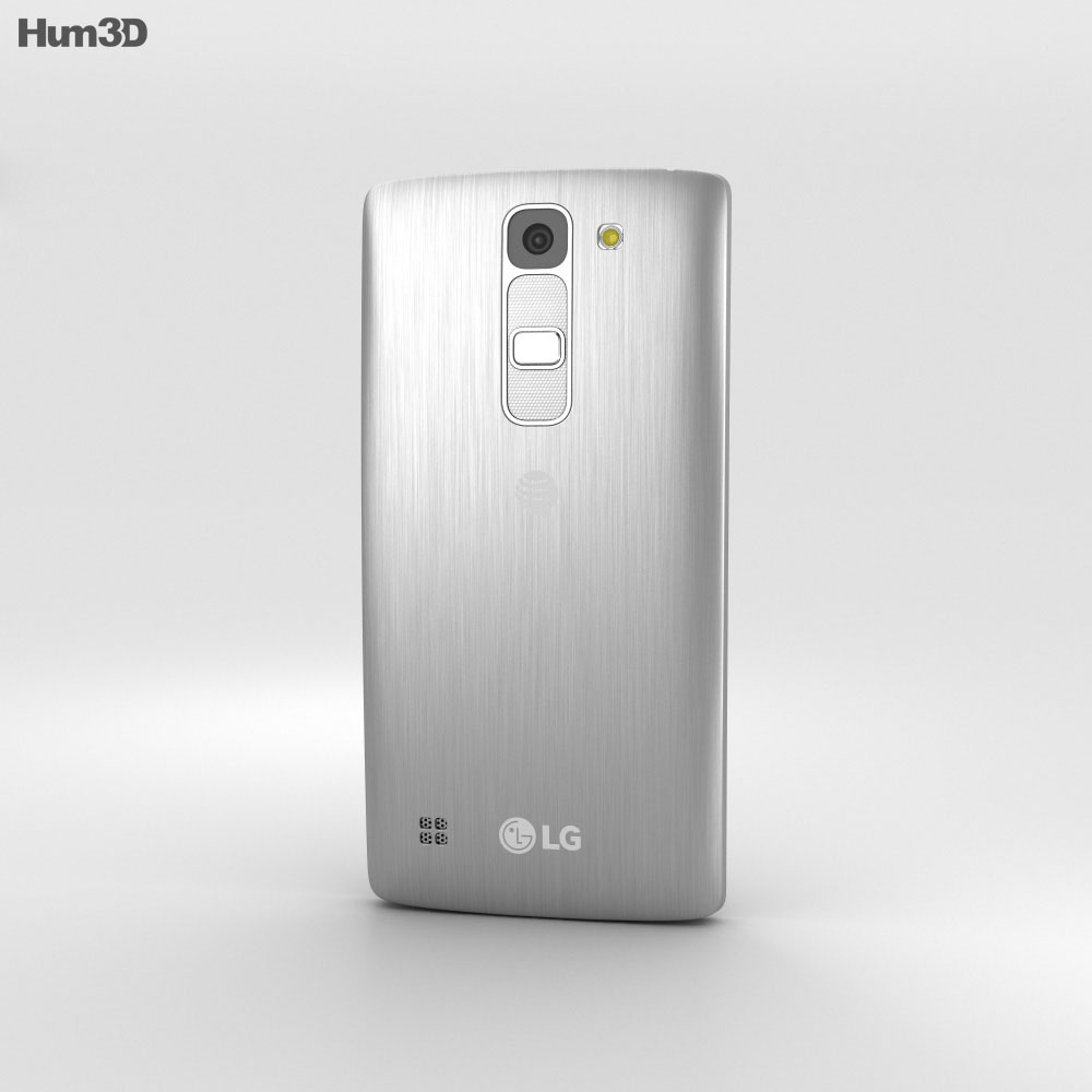 LG Escape 2 Silver 3d model