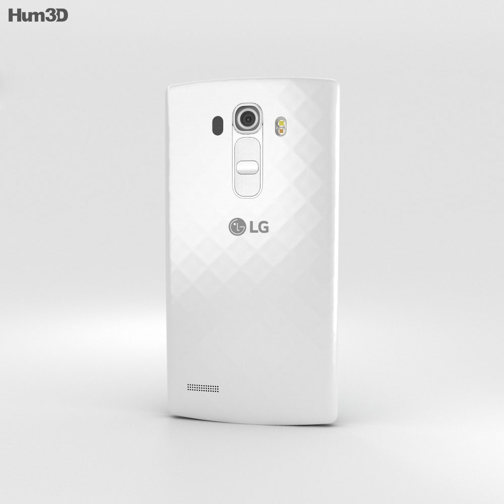LG G4 Beat Ceramic White 3d model