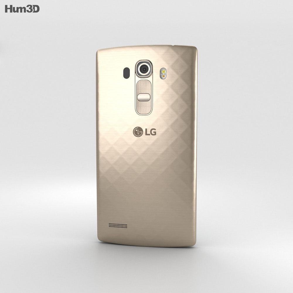 LG G4 Beat Shiny Gold 3d model
