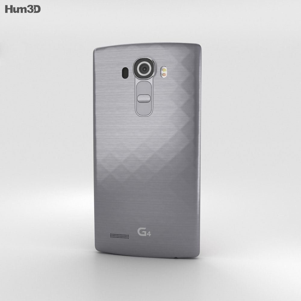LG G4 Grey 3d model