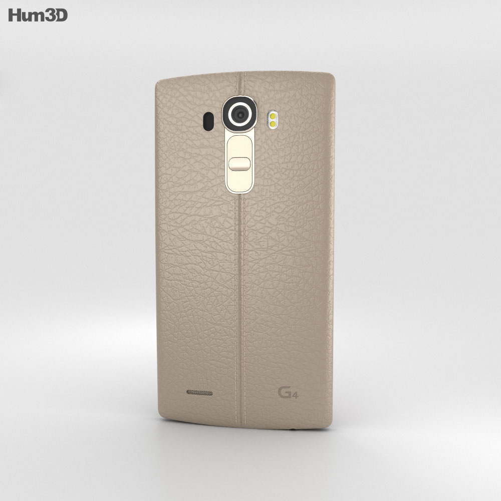 LG G4 Leather Beige 3d model