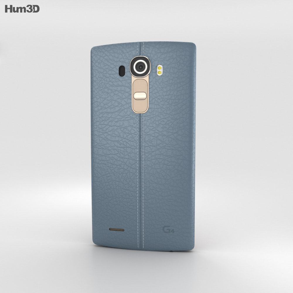 LG G4 Leather Blue 3d model