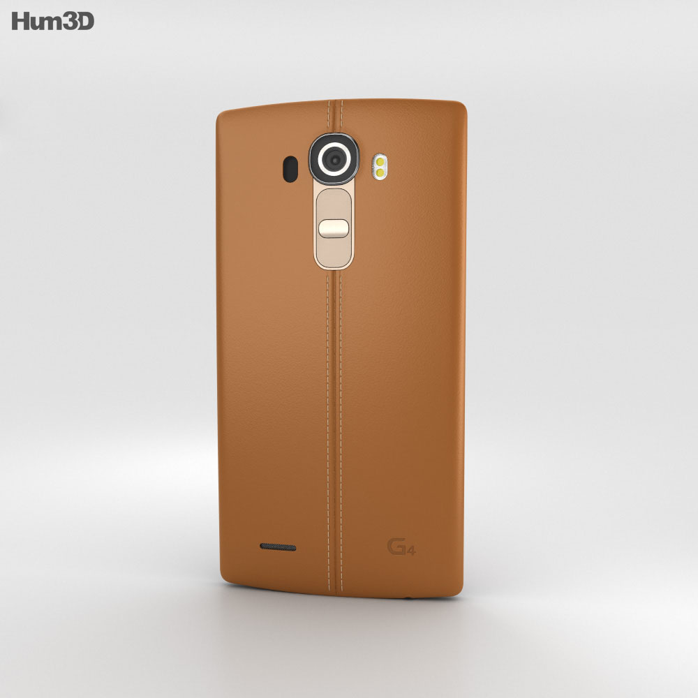 LG G4 Leather Brown 3d model