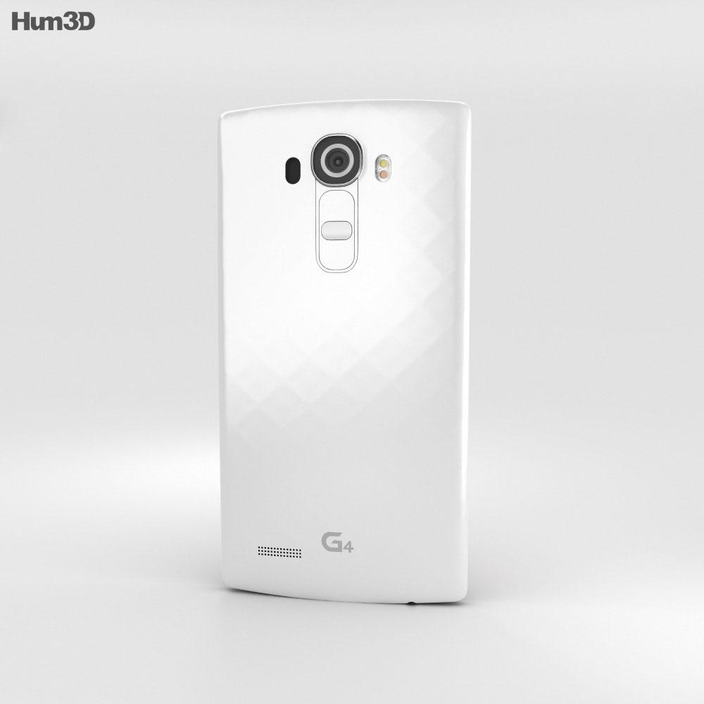 LG G4 White 3d model