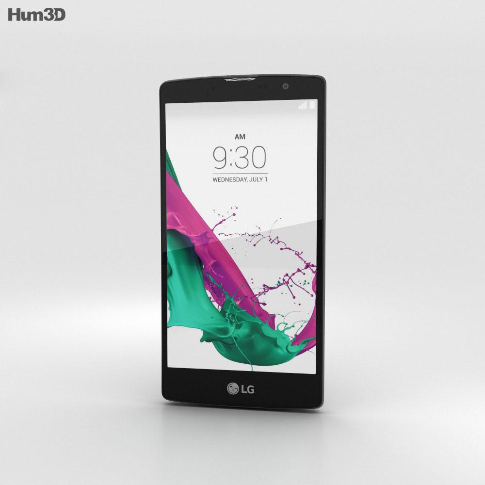 LG G4c Metallic Gray 3d model