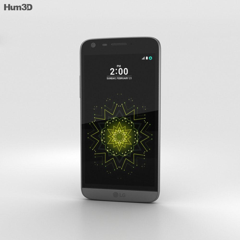 LG G5 Titan 3d model
