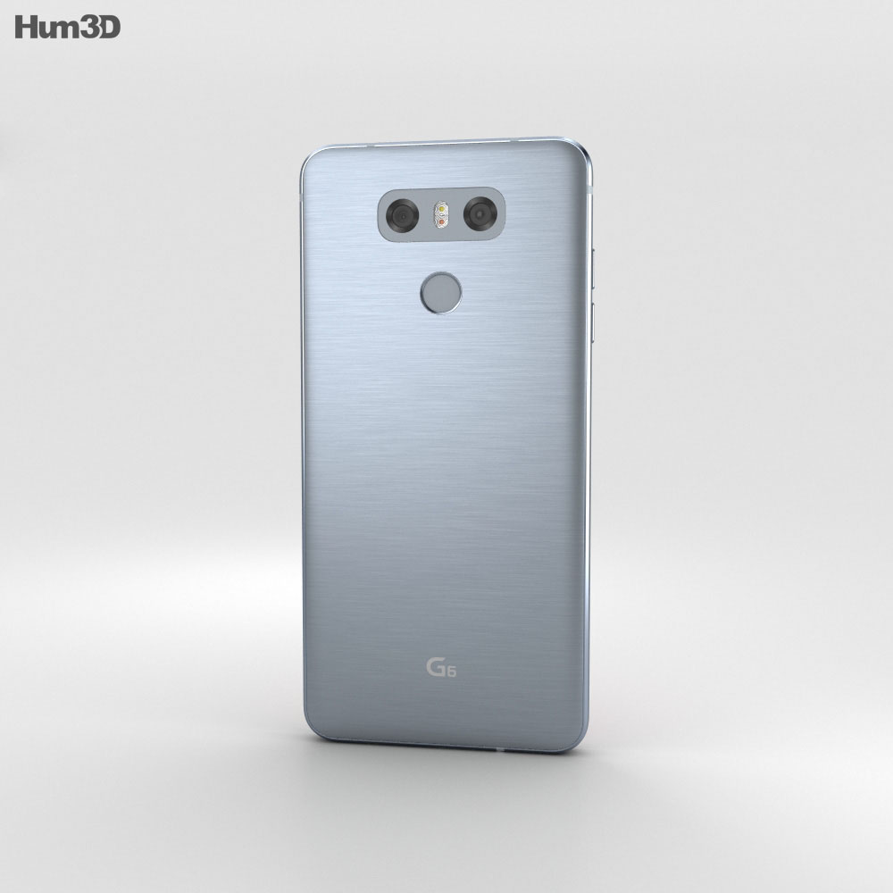 LG G6 Ice Platinum 3d model
