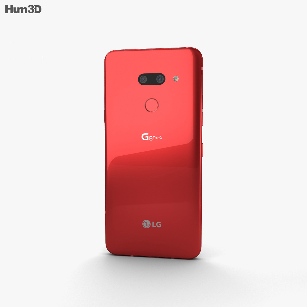 LG G8 ThinQ Carmine Red 3d model