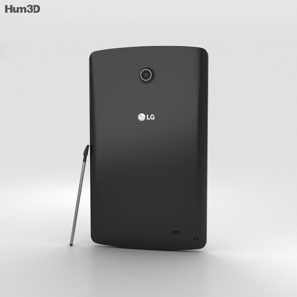 LG G Pad II 8.0 Black 3d model
