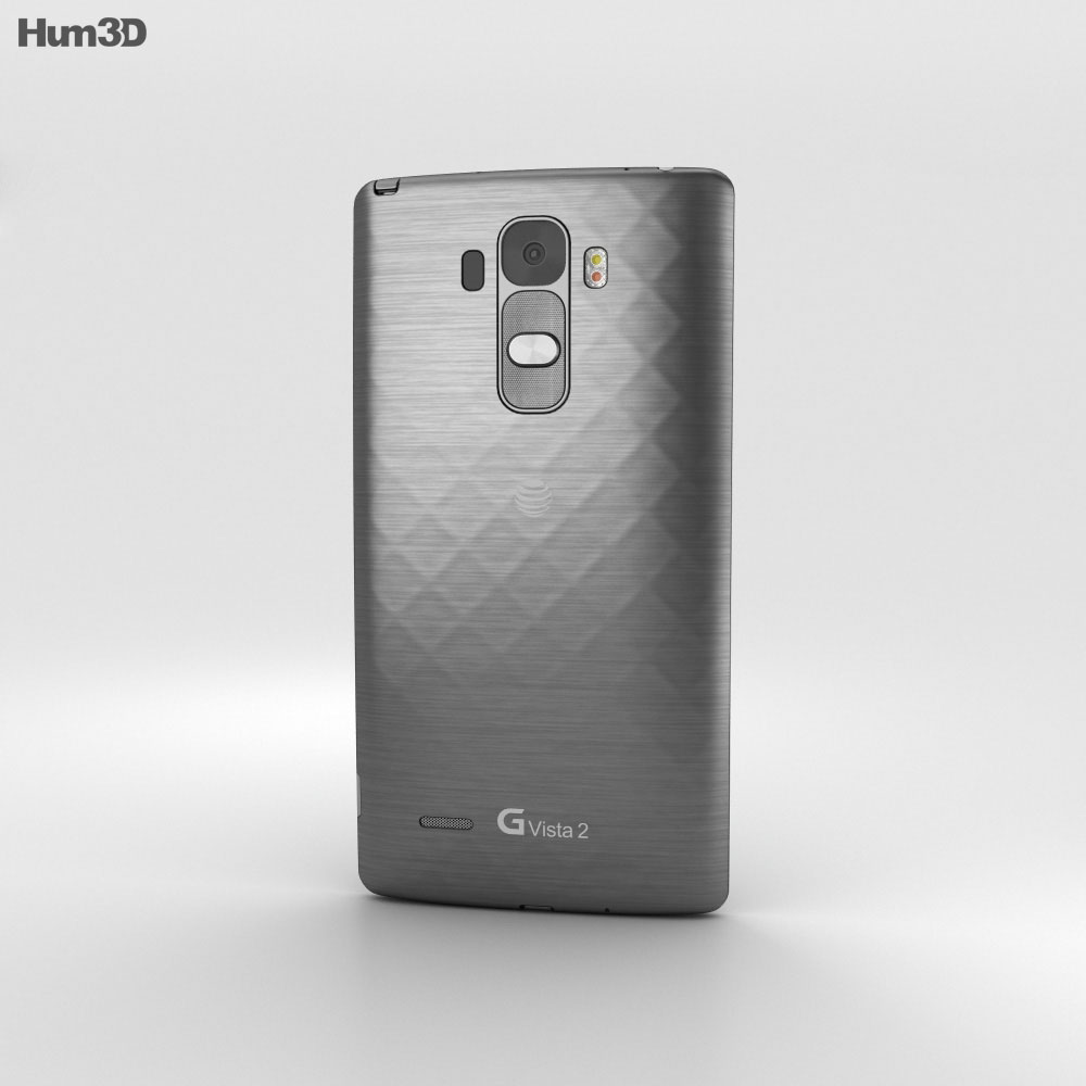 LG G Vista 2 Metallic Black 3d model