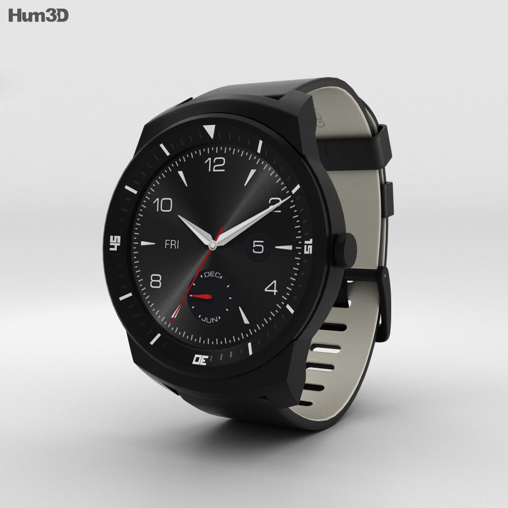 LG G Watch R 3d model