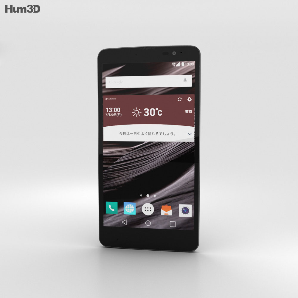 LG Isai Vivid LGV32 Black 3d model