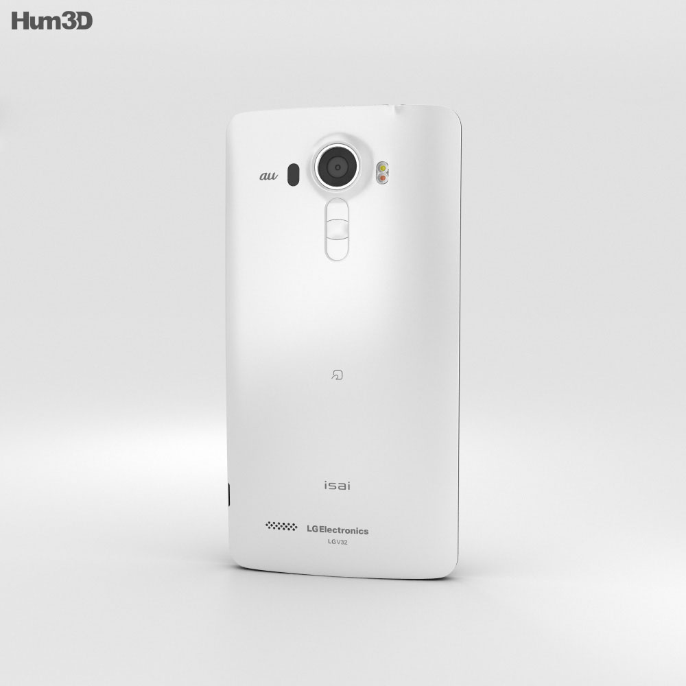 LG Isai Vivid LGV32 White 3d model