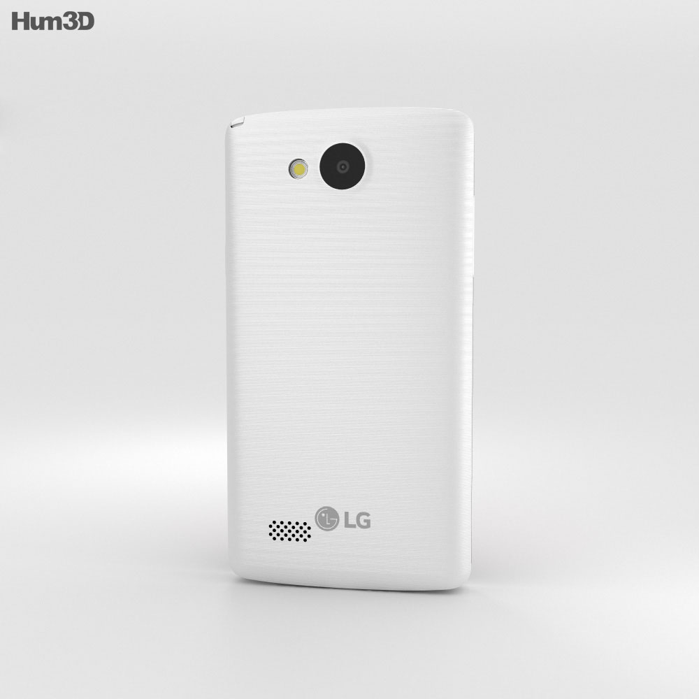 LG Joy White 3d model