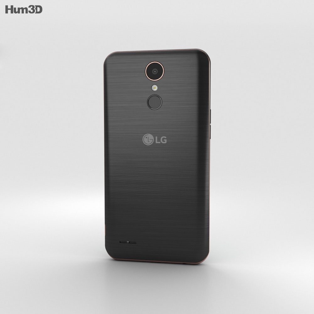 LG K10 (2017) Black 3d model