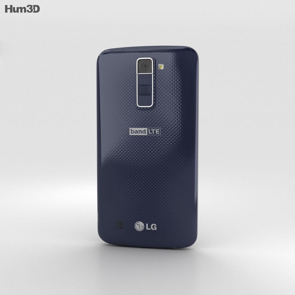 LG K10 Indigo 3d model