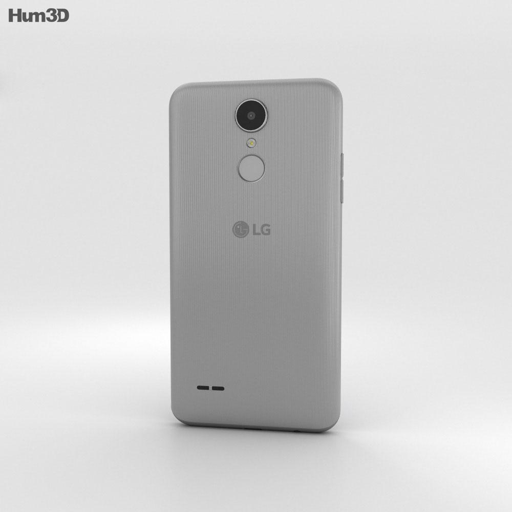 LG K4 (2017) Gray 3d model