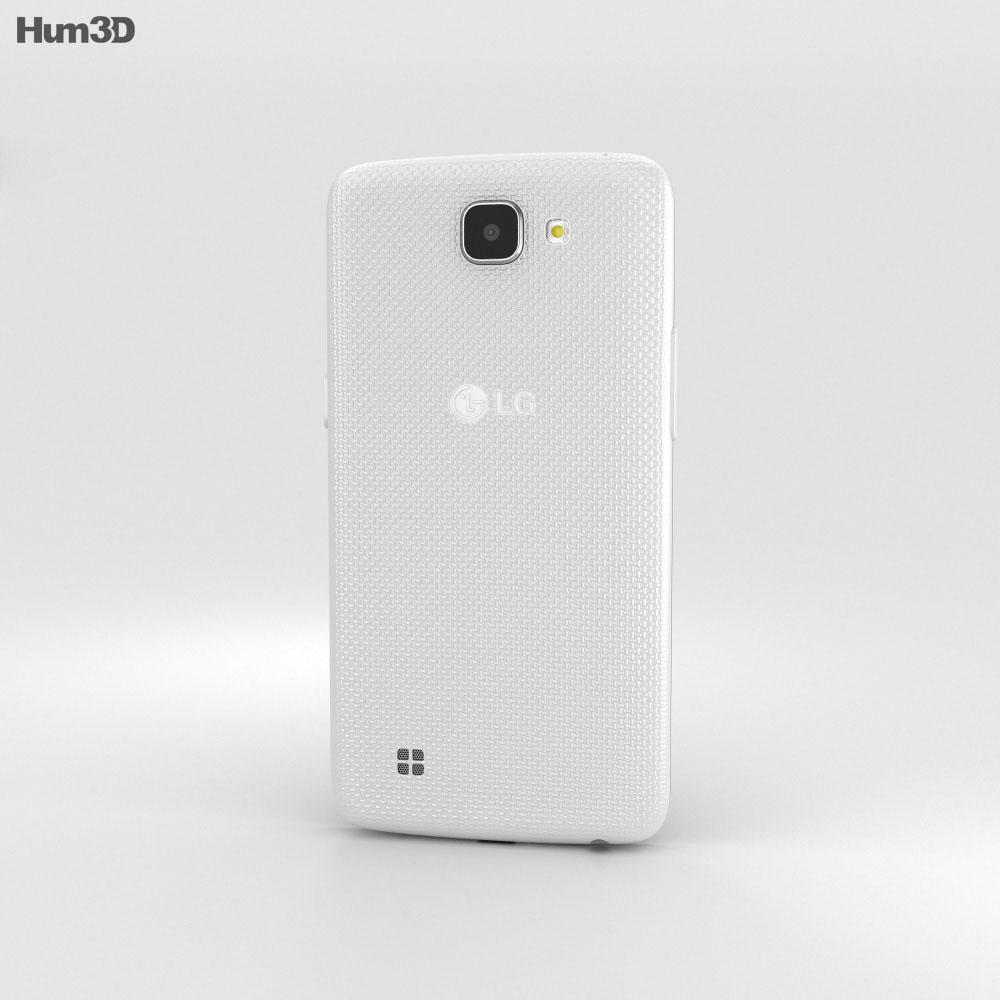 LG K4 White 3d model