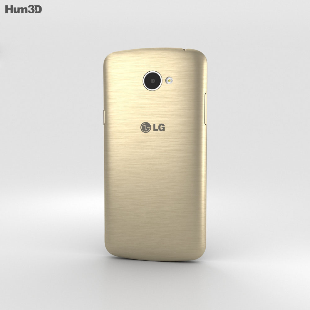 LG K5 Gold 3d model