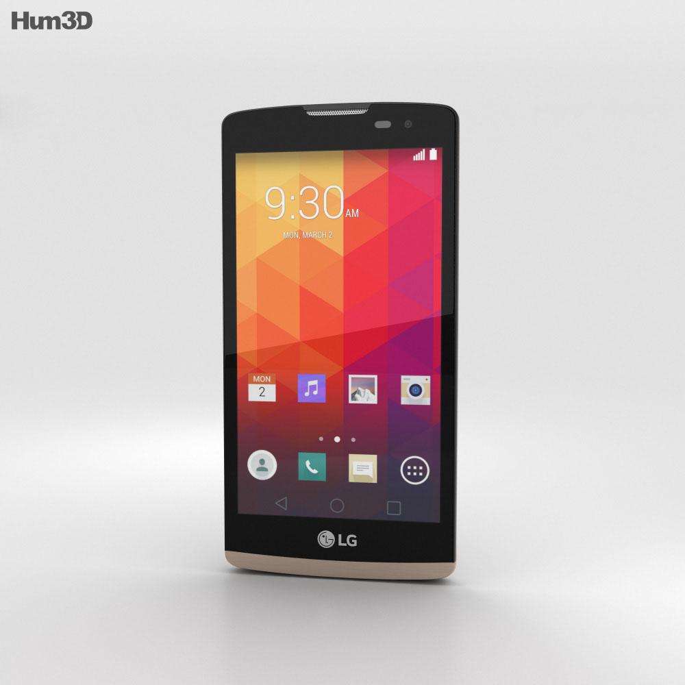 LG Leon Gold 3d model