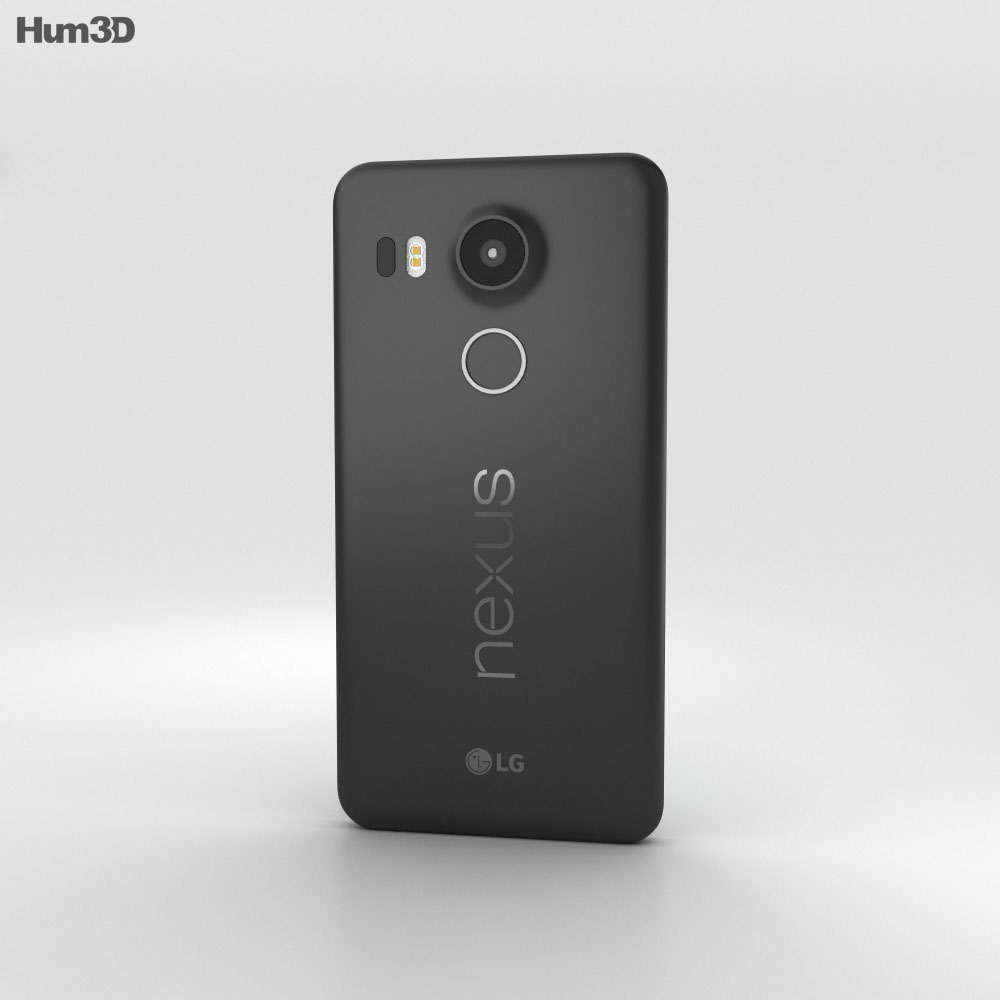 LG Nexus 5X Carbon 3d model