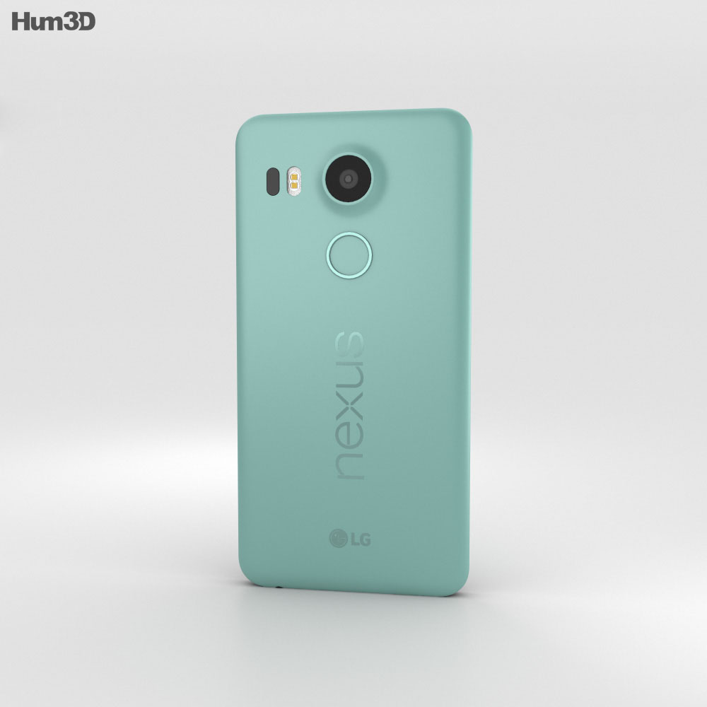 LG Nexus 5X Quartz 3d model