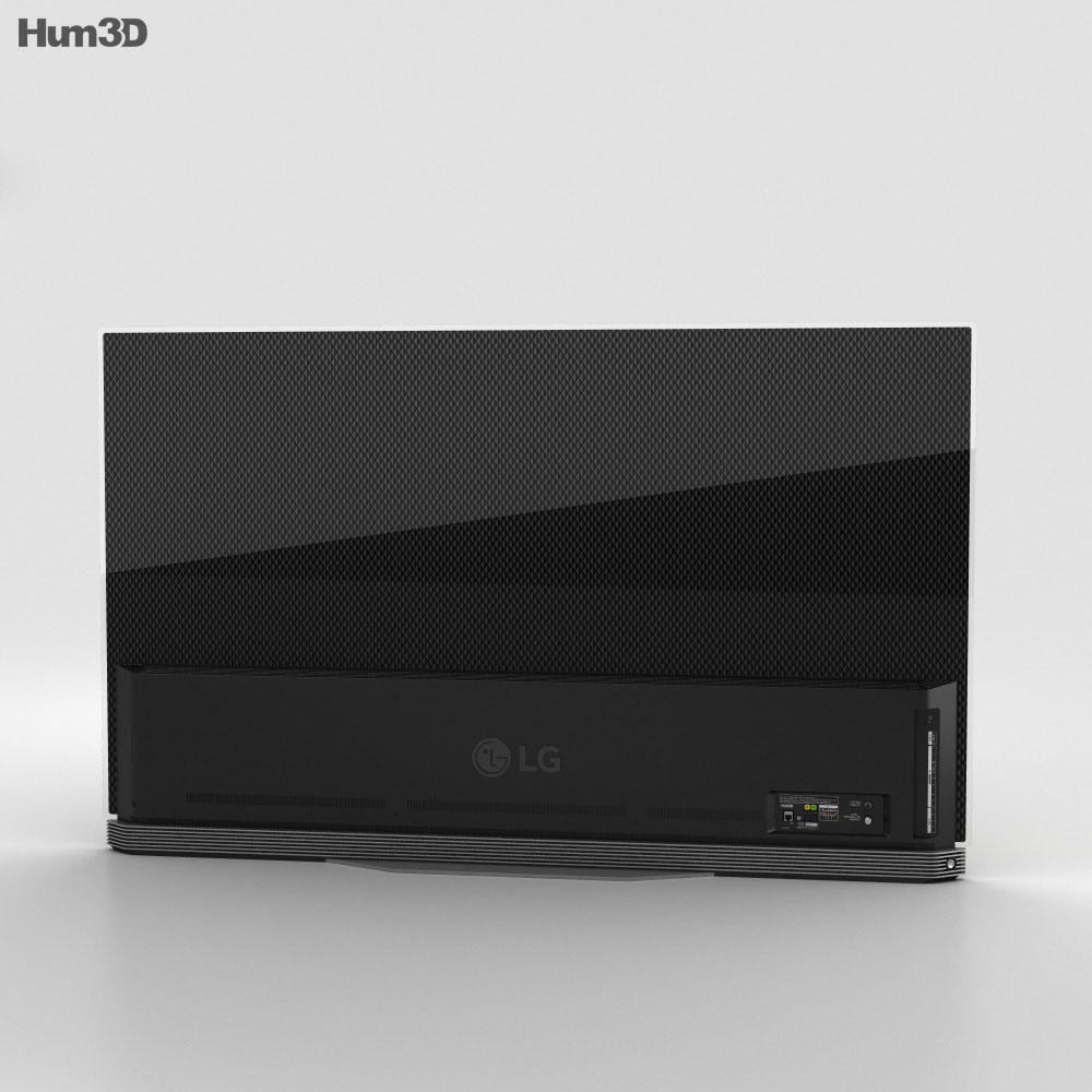 LG 65'' OLED TV E6 OLED65E6V 3d model