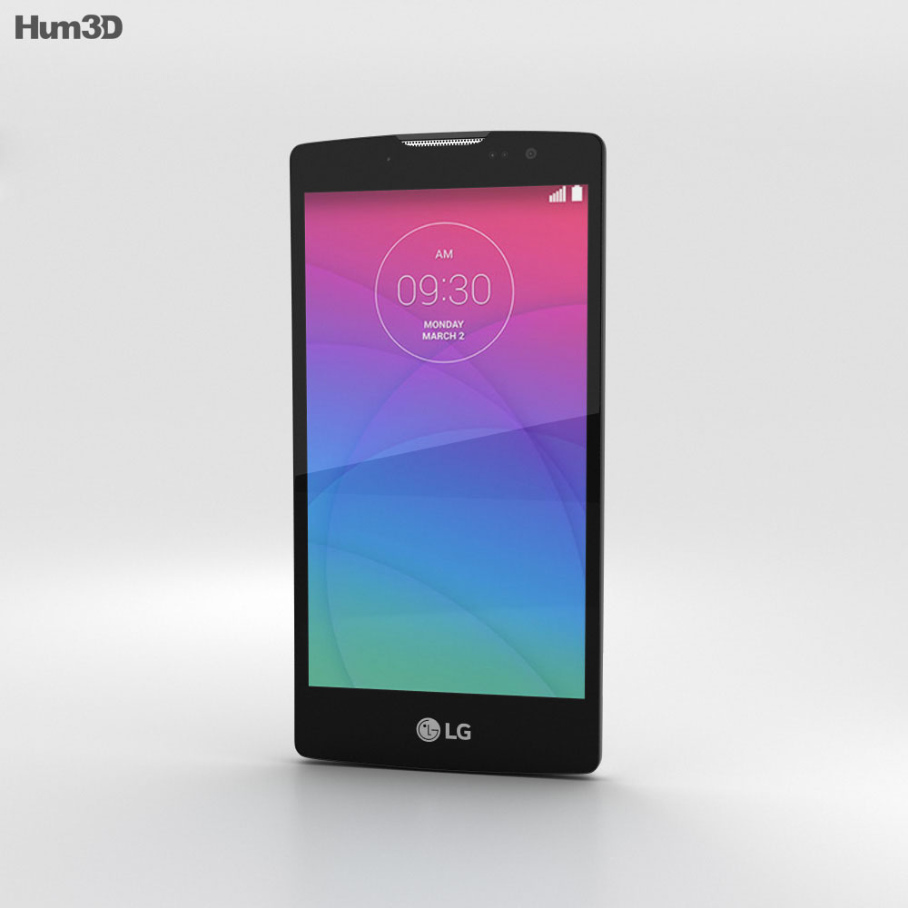 LG Spirit White 3d model