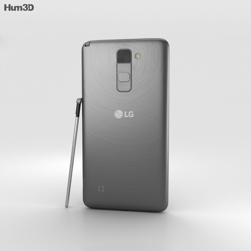 LG Stylus 2 Titanium 3d model