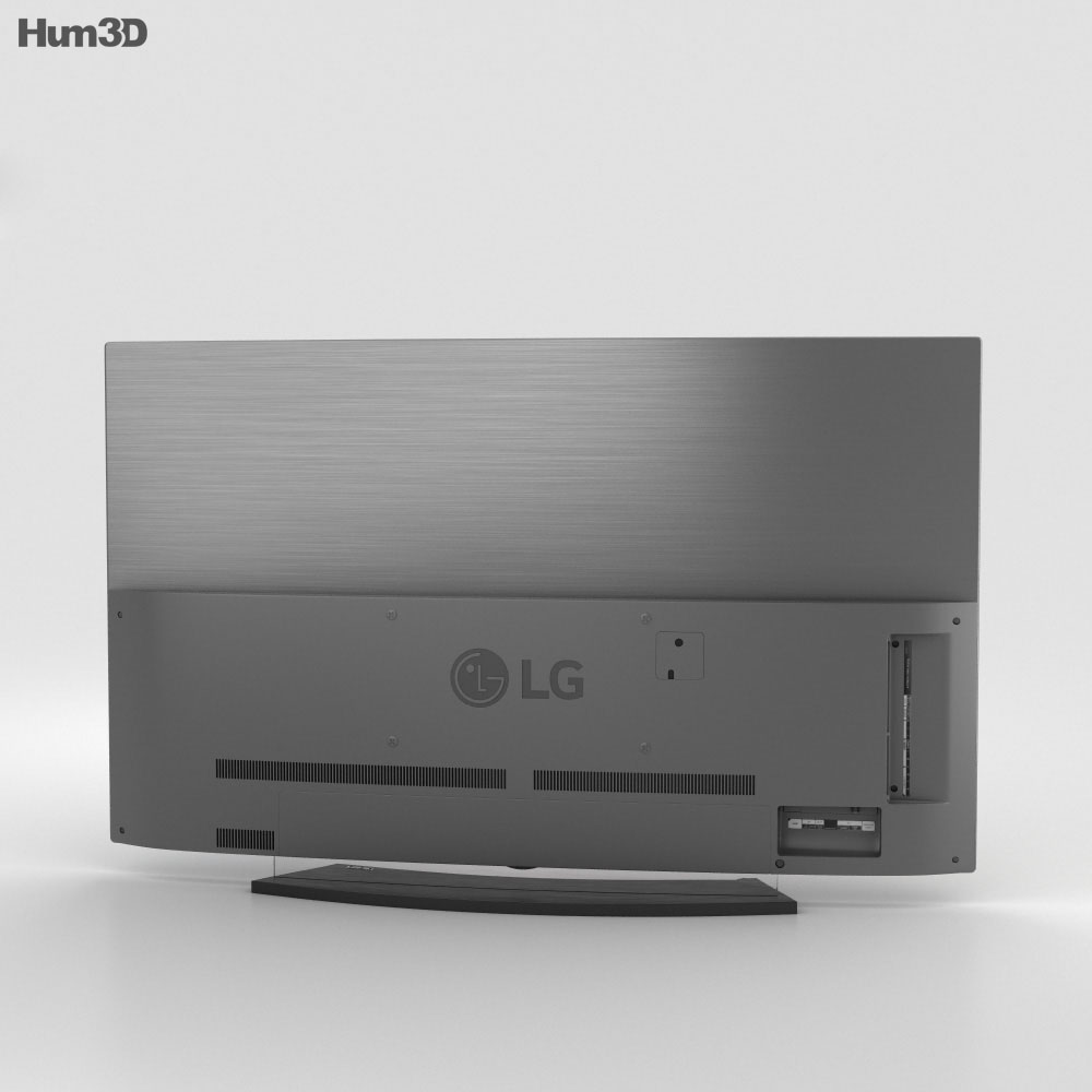 LG 55'' OLED TV  C6 OLED55С6V 3d model