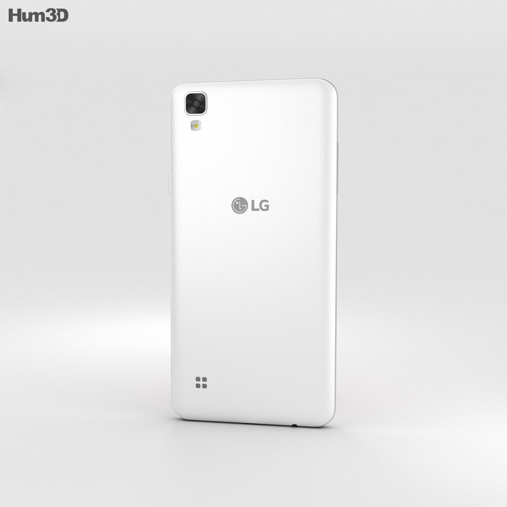 LG Tribute HD White 3d model