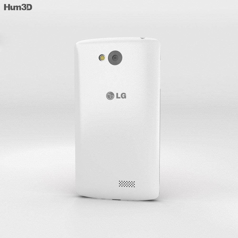 LG Tribute White 3d model