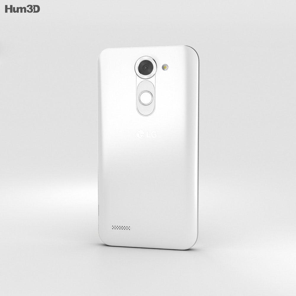 LG X Mach White 3d model