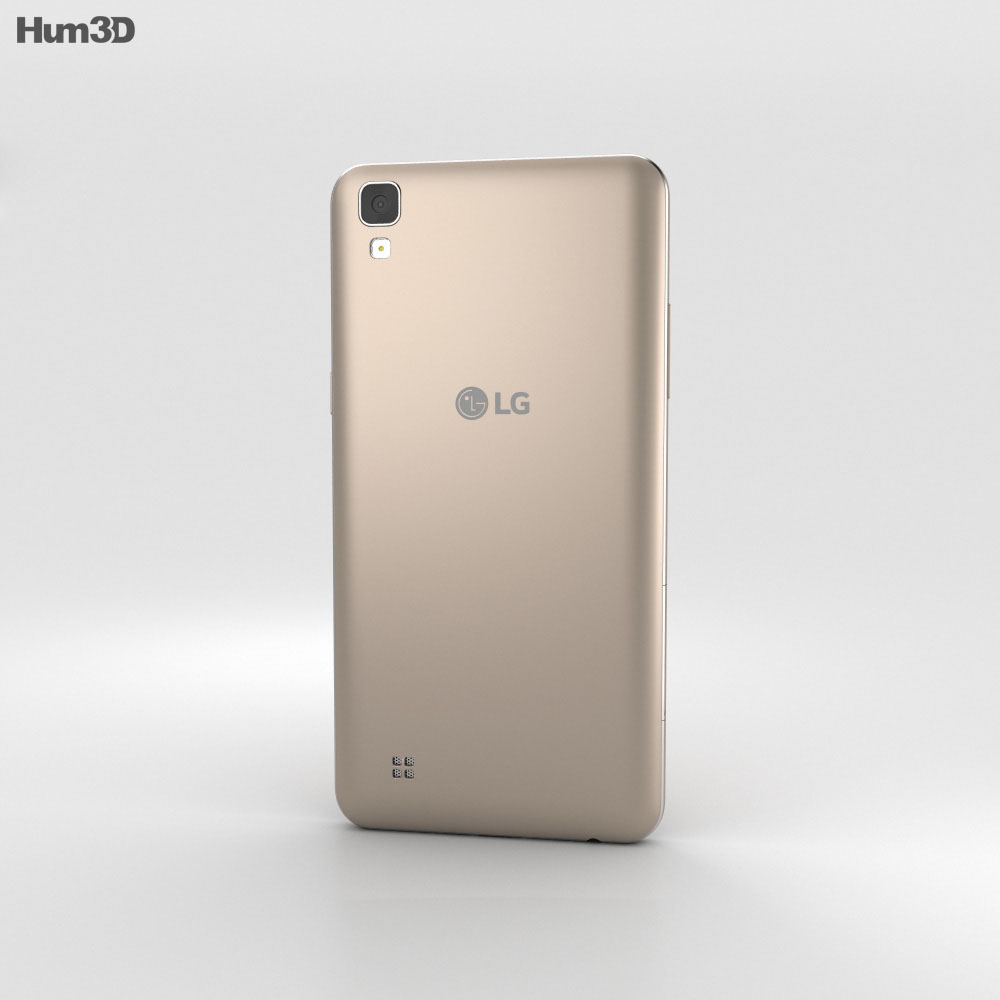 LG X Power Gold 3d model
