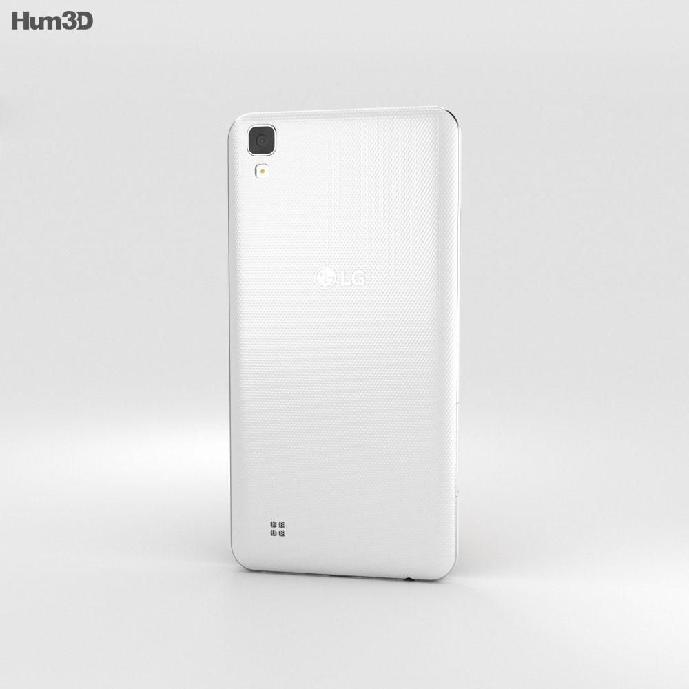 LG X Power White 3d model