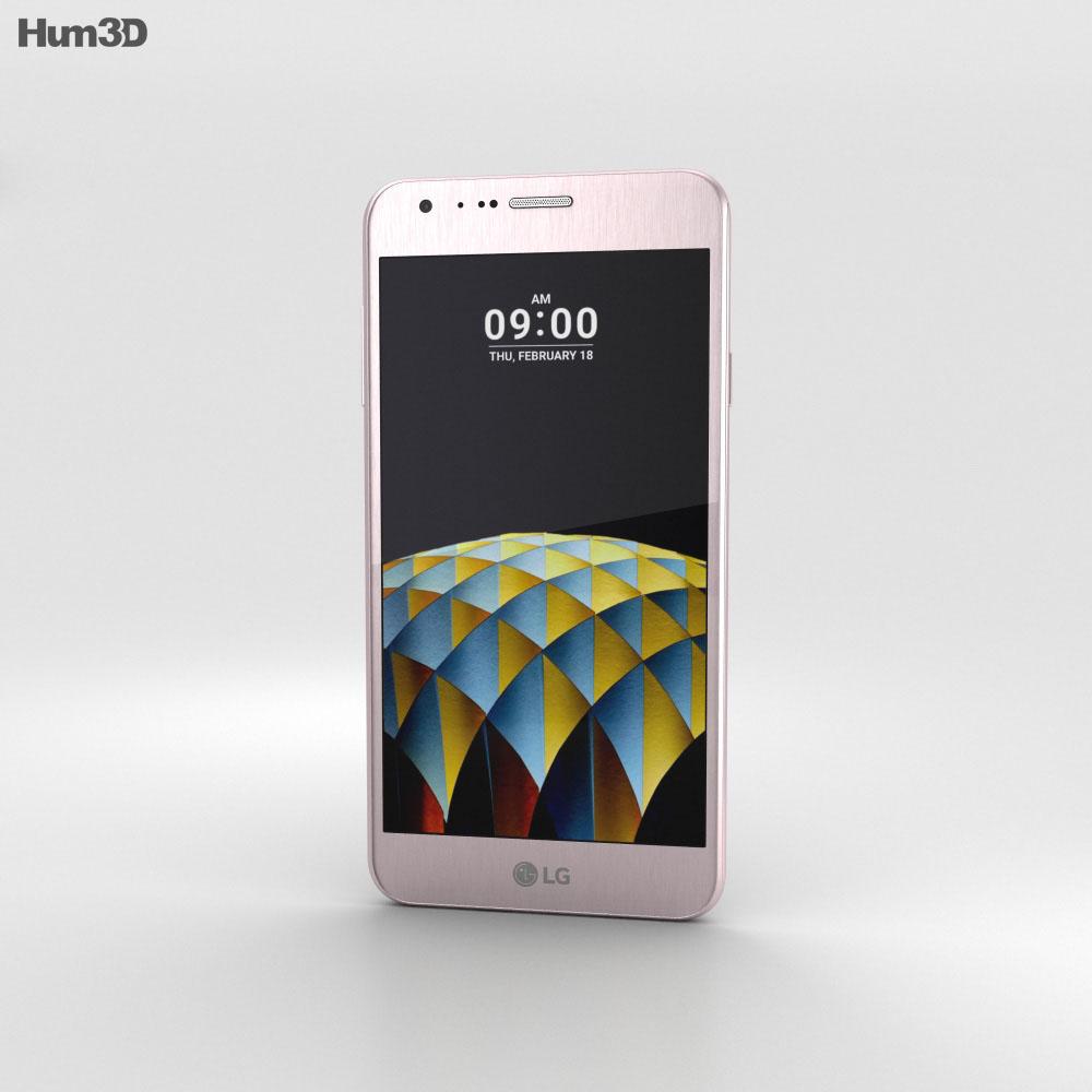 LG X Cam Pink Gold 3d model