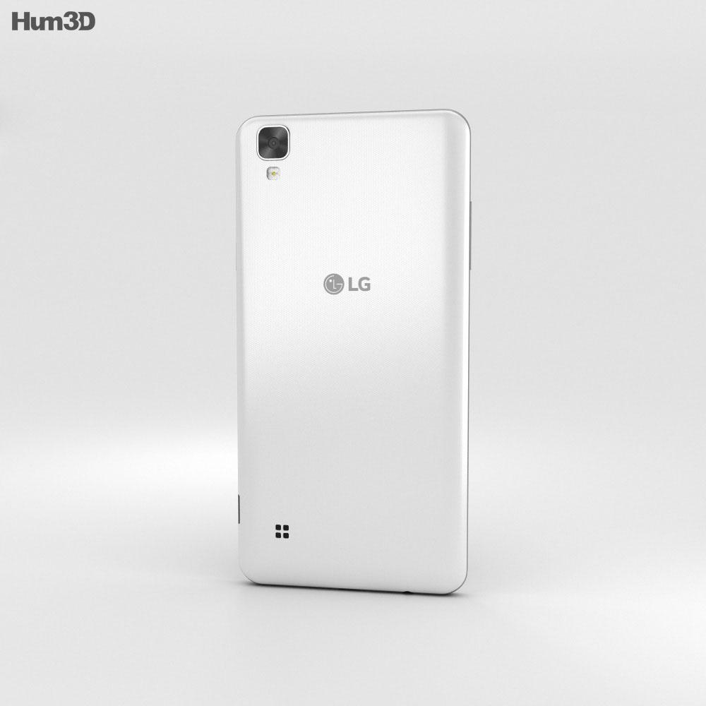 LG X Style White 3d model
