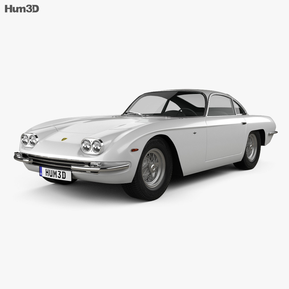 Lamborghini 400GT 1966 3d model