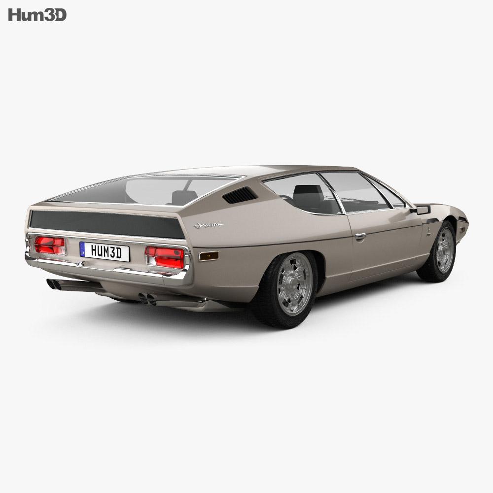 Lamborghini Espada 1968-1978 3d model
