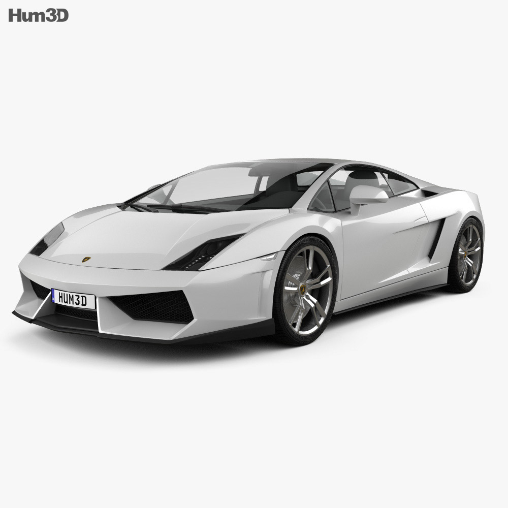 Lamborghini Gallardo LP 560-4 2009 3d model