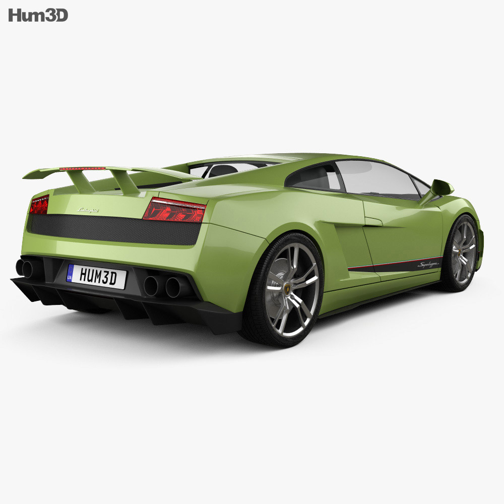 Lamborghini Gallardo LP570-4 Superleggera 2011 3d model
